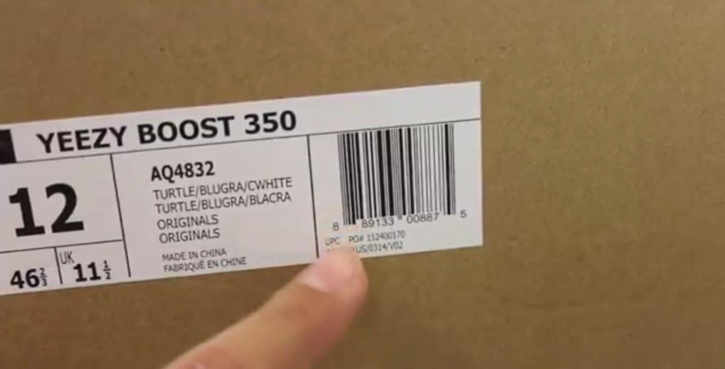 Yeezy Box and PO number