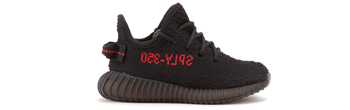 Yeezy 350 Boost V2 Infant Black/Red